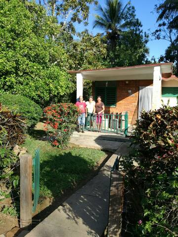 Casa Mariposa - przytulny domek we wsi Moncada