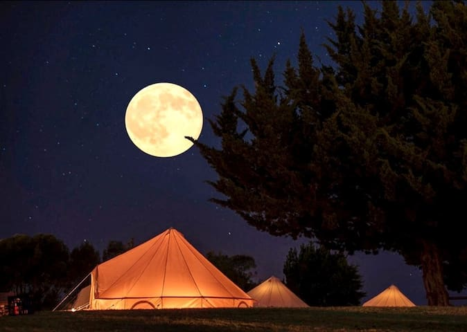 Ànima Suite Bell Tent Glamping Montseny