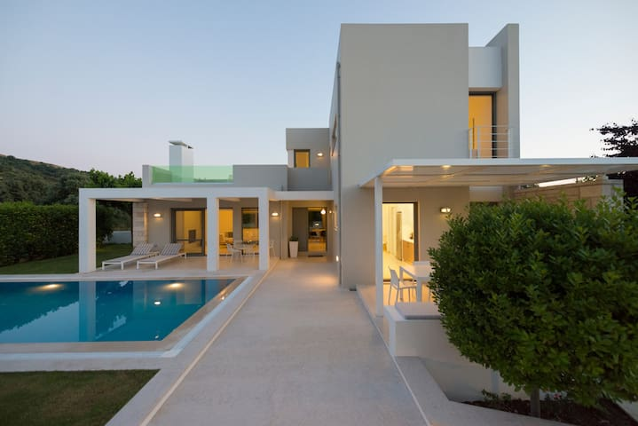 Eco villa with garden and pool