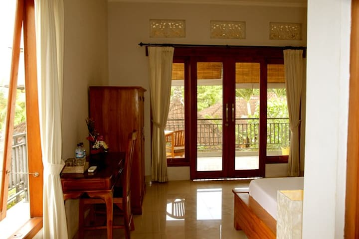Private room in ubud- accomodation -guest house 2