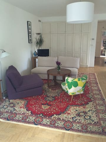 Spacious flat + garden in Buda, close to transport - Budapest