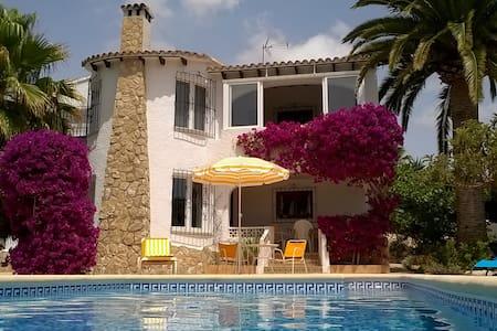 Villa Lucita in Moraira - Teulada - Bed & Breakfast
