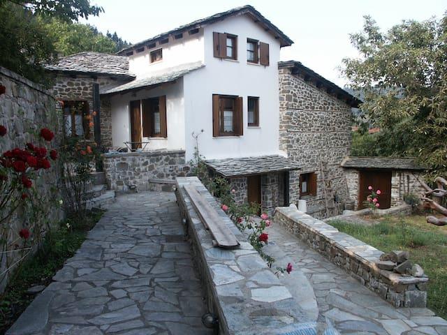 Greek mountain house