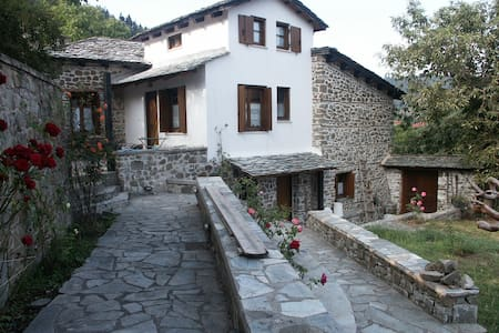 Greek mountain house