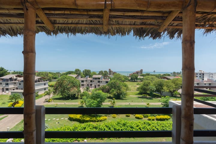 Ocean View Town House 405 - San Clemente Ecuador - Apartment