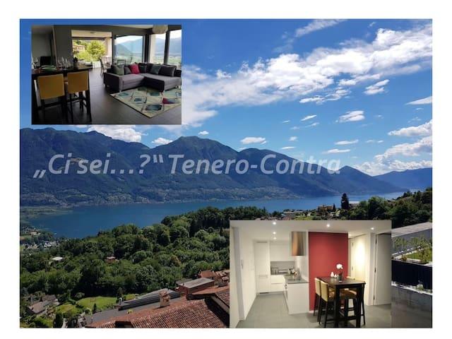 Ci sei? Zuhause mit Aussicht,Tenero-Contra,Locarno