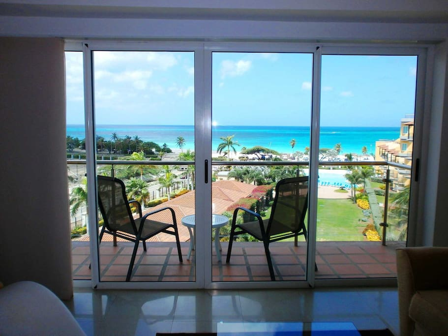 Your view standing in your living room!