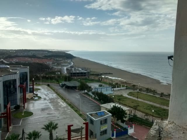 Charmant petit apart  avec vue sur la mer - Rouïba - 公寓