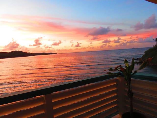 2 bedroom/2 bath oceanfront condo in Bolongo Bay