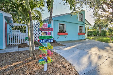 Tropical Hobe Sound Cottage: 1.7 Mi From the Beach