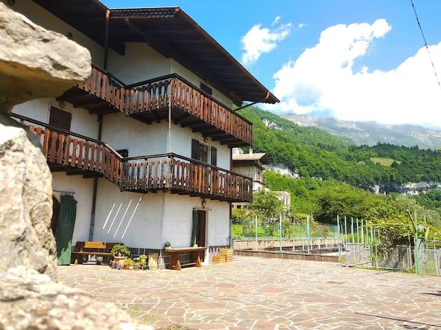 The Belvedere mountain retreat (Trento)