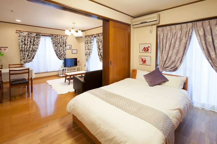 SC201★7 ppl★Free WiFi★2min to Shibuya★2Bedroom