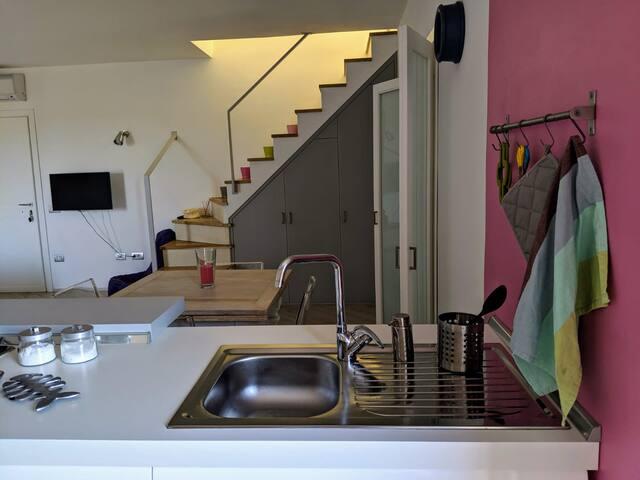 Appartamento Serena con terrazzo, 4-6 persone