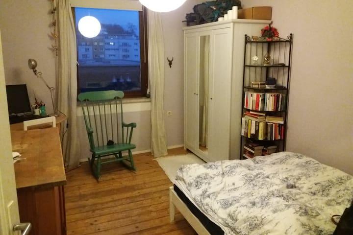 Charmantes Zimmer in zentraler Altbau-Wohnung - Regensburg - Apartment