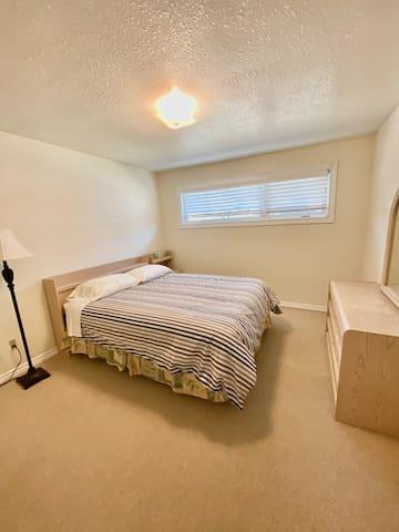 Main floor bedroom 1