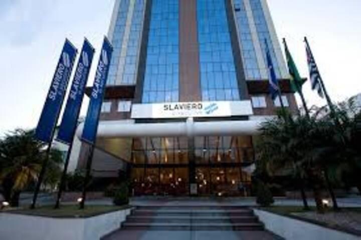 Flat no Hotel Slaviero em Guarulhos