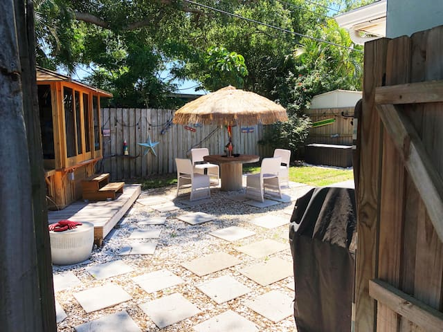 View of private yard space.