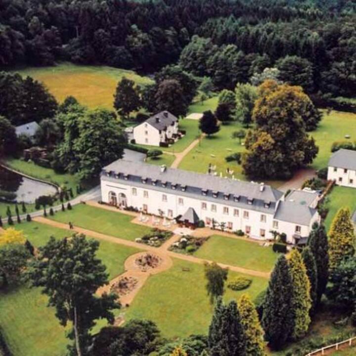 Prachtige kamers in een historisch abdijhotel