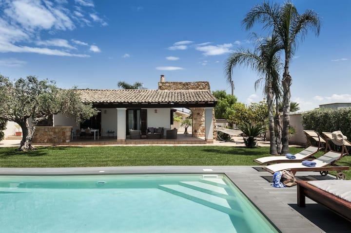 Private villa with swimming pool