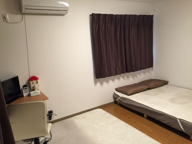 10㎡ spacious room with Double Bed - Hanyu - Ev