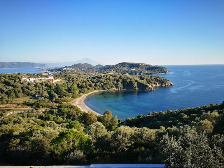 Ammouliani Olive Bay Hilltop Apartment no1