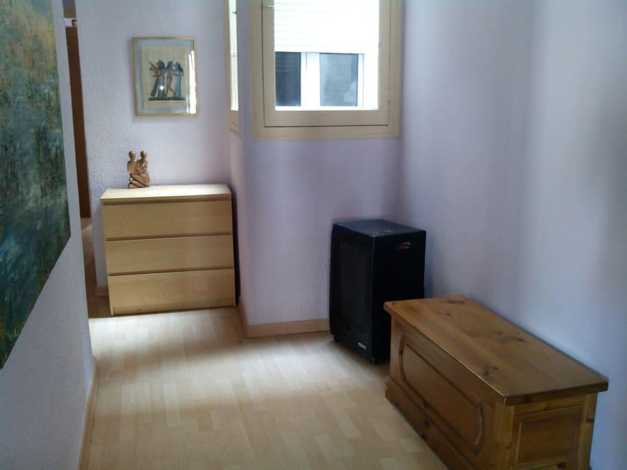 Precioso piso con terrazay chimenea apartamentos en for Chimenea fundicion pisos alquiler deusto