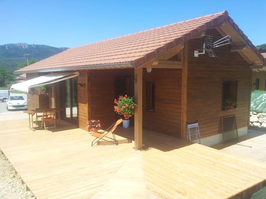 Terrasse 40 m2 (plein sud)