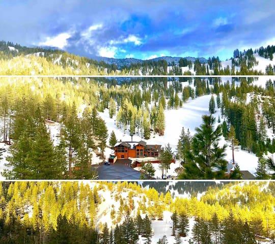 Spectacular views of Diamond Peak Spacious & New!