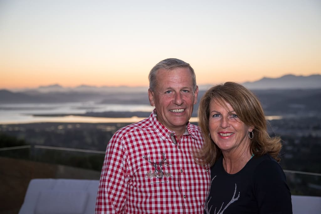 Meet the owners - Ossie & Sabine