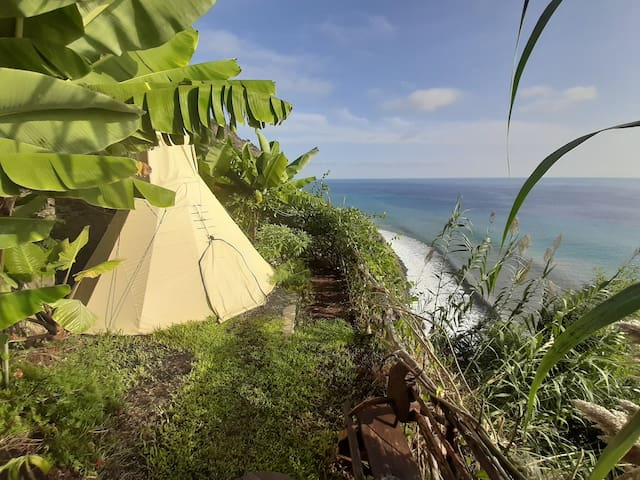 Glamping in a Hidden Paradise