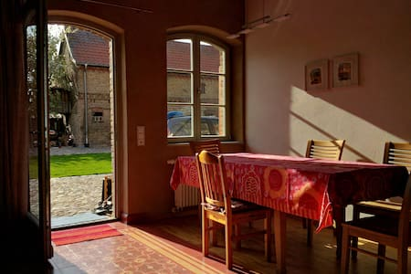 Kleine Ferienwohnung auf dem Bauernhof - Michendorf - 公寓