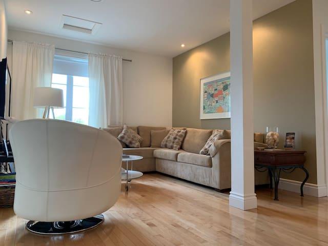 Un logis chaleureux et confortable