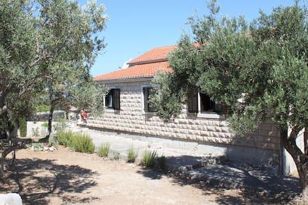 house for friends&family,near coast - Splitska - Ev