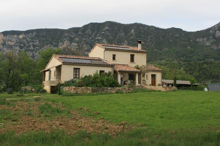 gite pour 2 personnes à la ferme - Mornans - Casa