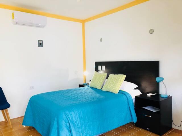 Cozumel downtown Villa Las Flores apartment 2