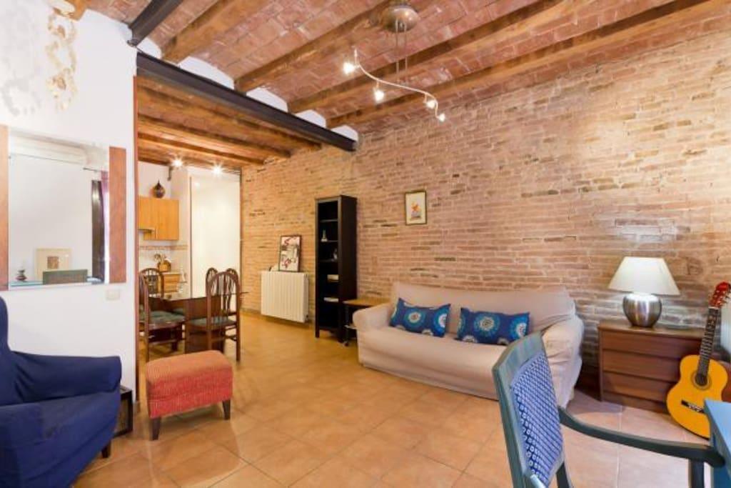 Charmant appartement dans le centre ville de barcelone - Chambres d hotes barcelone centre ville ...