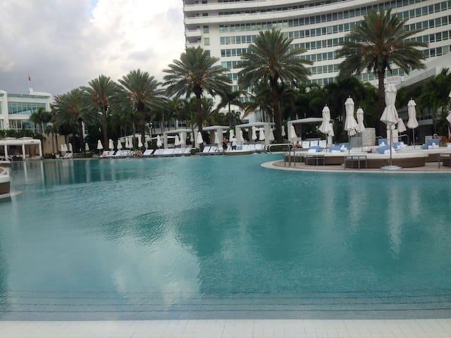 Junior Suite in the Fontainebleau - Miami Beach - Apartament