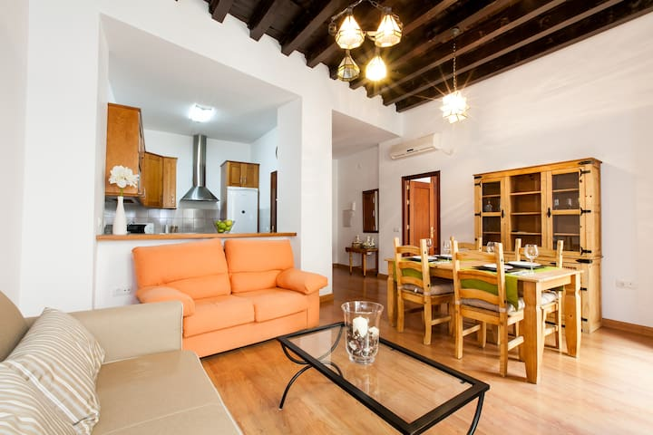 Beautiful flat in the heart of Seville. WIFI FREE.