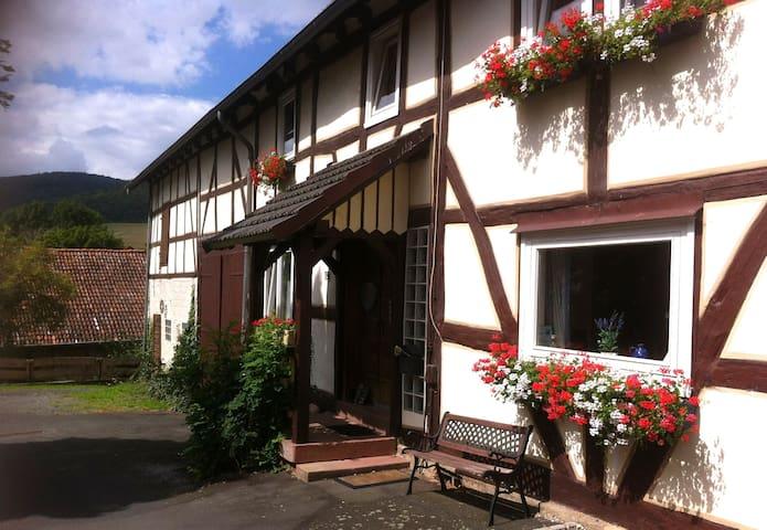 Waldeckisches Bauernhaus KrummelsEG - Edertal - Hus