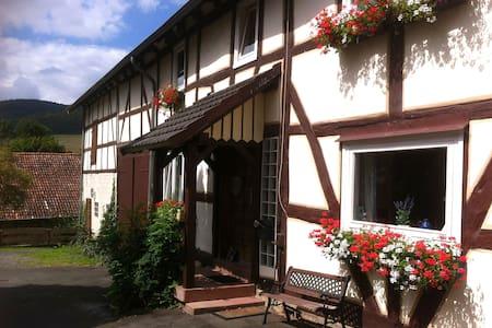 Waldeckisches Bauernhaus KrummelsEG - Edertal - Casa