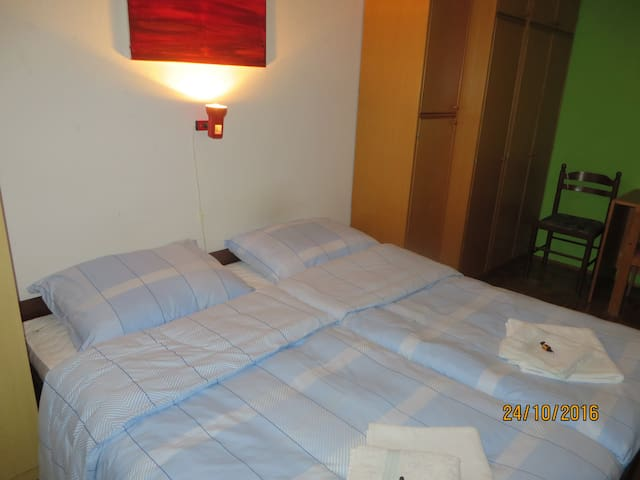 Cute room in peaceful area near to city center