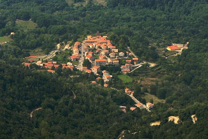 Charmante maison de village 75m2 - Cardo-Torgia - Rumah