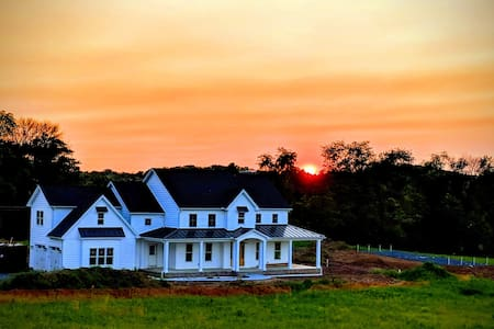 Ewer's Truly Modern Farmhouse in Central Pa