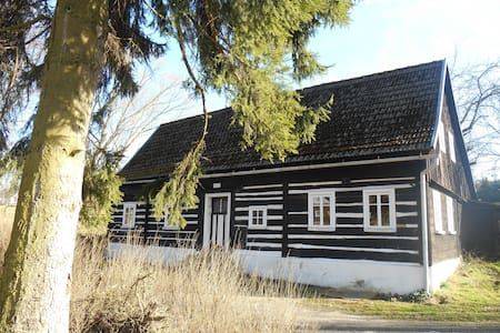 Urgemütliches Holzhaus am Bach - Dolní Chřibská - 獨棟