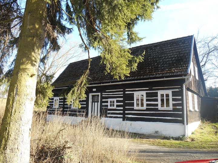 Urgemütliches Holzhaus am Bach