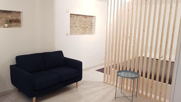 Appartement cosy côté jardin - RER à 30 mètres