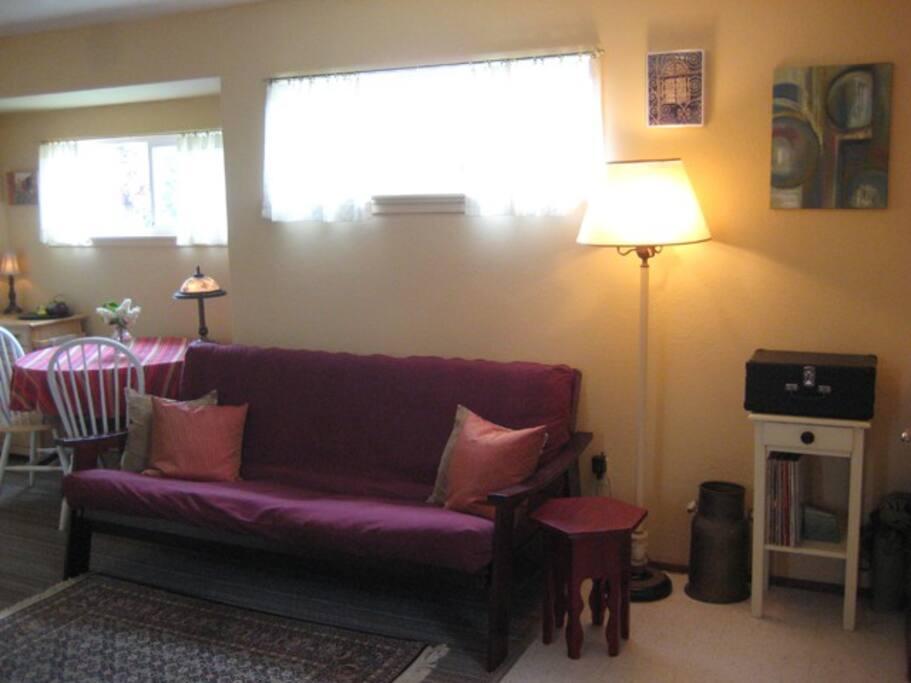 full-sized futon