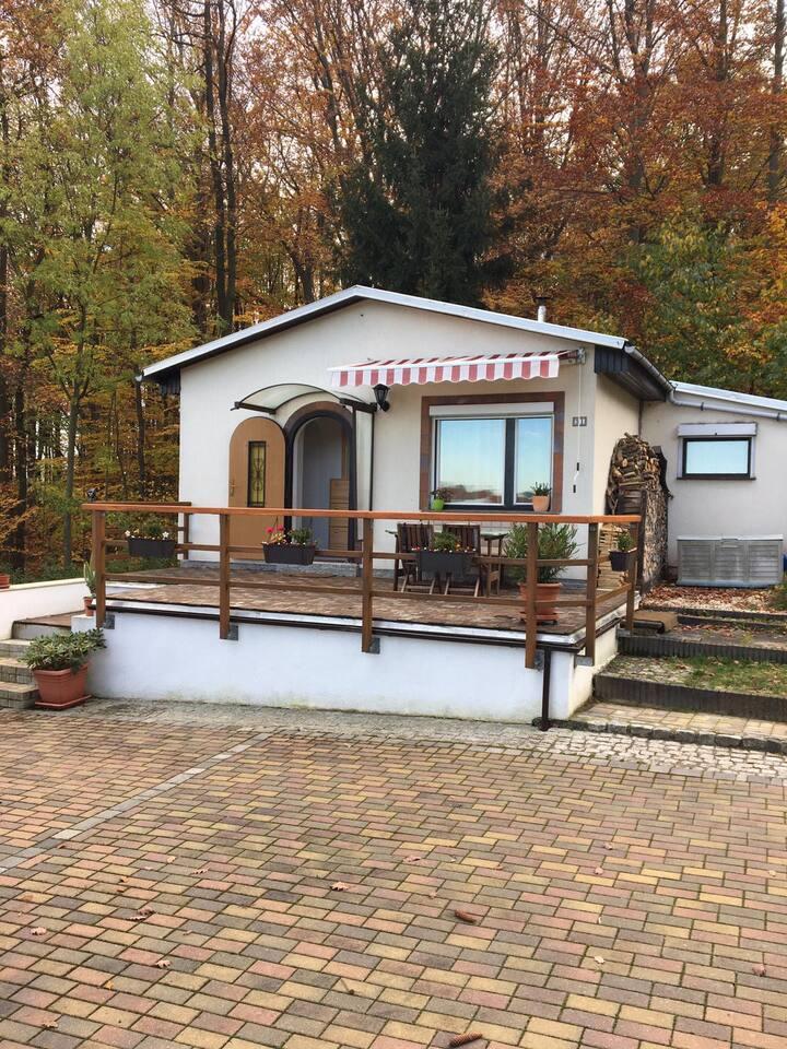 Kleines Haus direkt am Wald