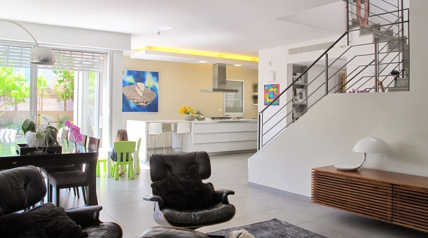 Private designer home - Hod Hasharon - Haus
