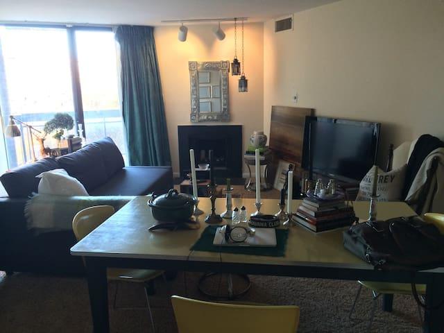 Cozy apartment near Kennedy Center - Washington - Departamento